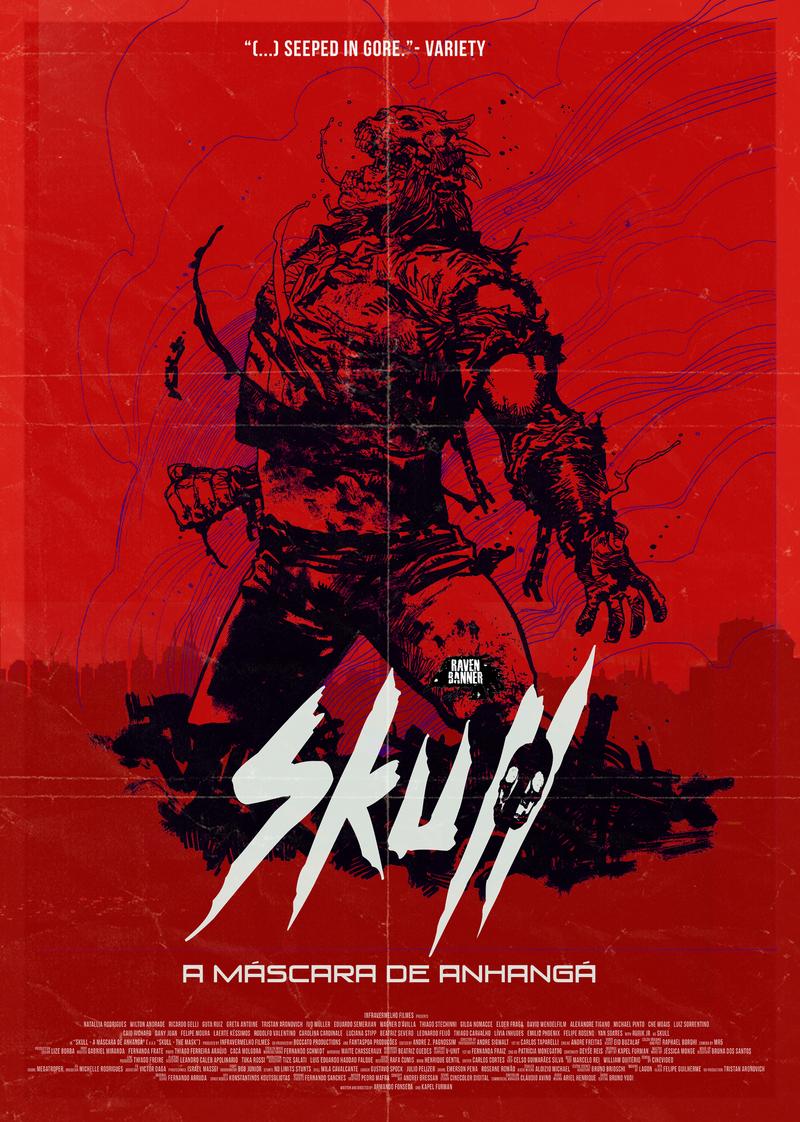 skull the mask poster