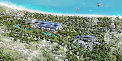Vị trí dự án Axis Hồ Tràm