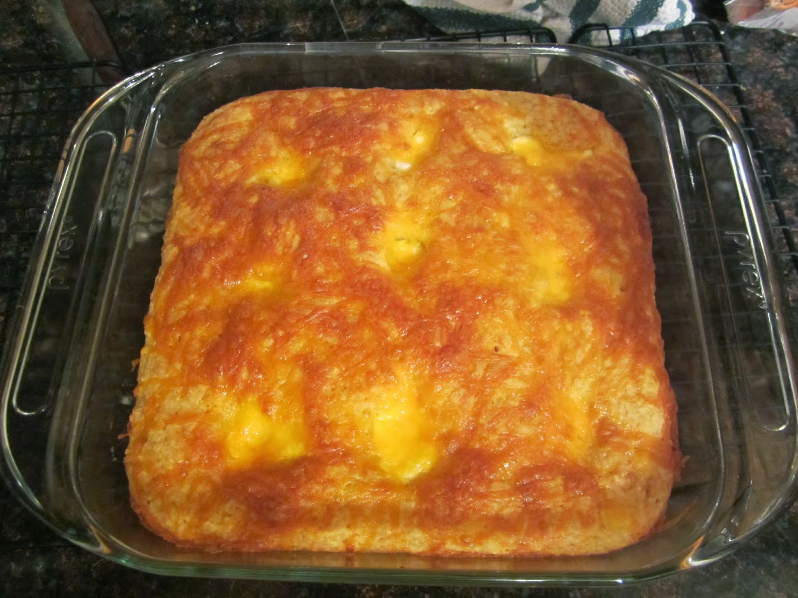 Clean | Kaylene: Recipe: Sweet Heat Mexican Cornbread ... |Jiffy Cornbread Casserole