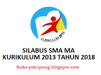 Silabus Kimia SMK SMK Kelas X XI XII Kurikulum 2013 Revisi 2018
