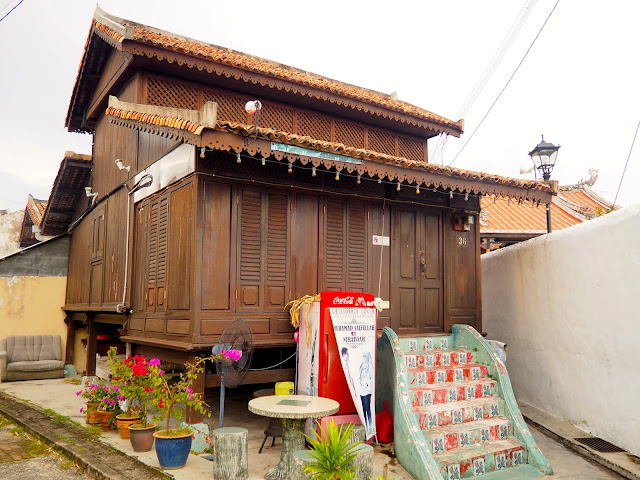 Malay house in Melaka, Malaysia