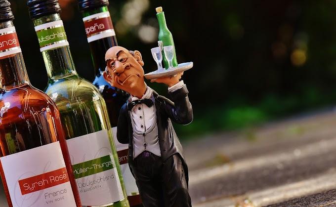 Service of wine