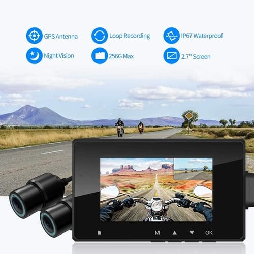 Review HaloCam M1 Motorcycle Recording Camera