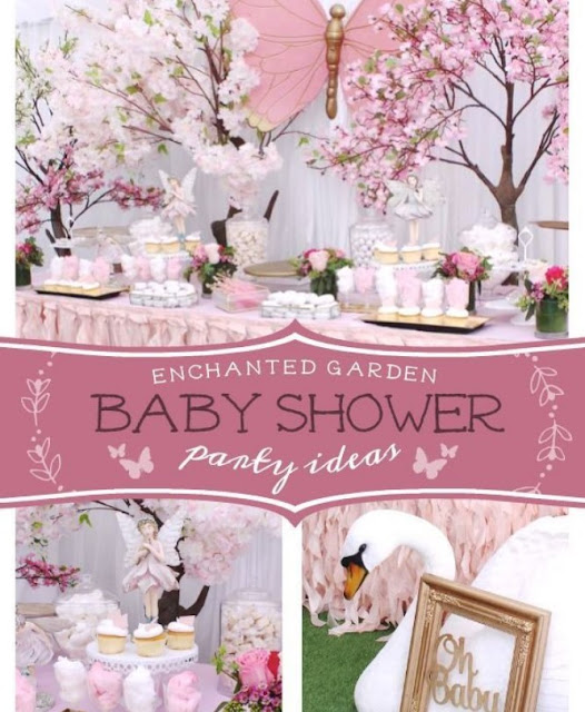 Flower Blossoms Baby Shower ideas