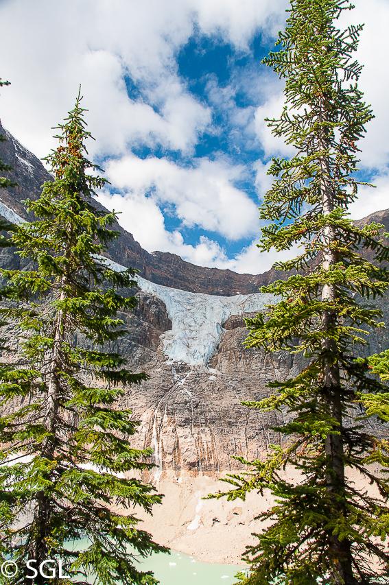 Canada y el aire de las rocosas. Monte Edith Cavell-Jasper