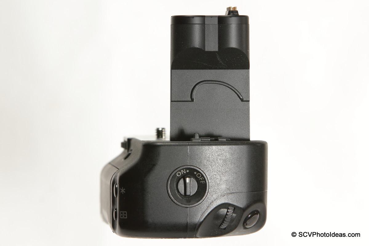 Canon BG-E2N Battery Grip side