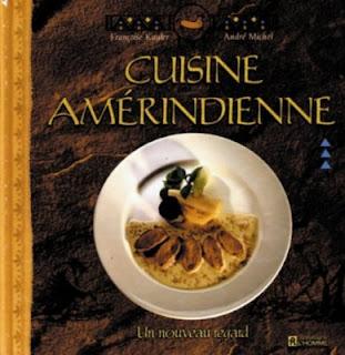 Livre de recettes amérindienne blog Délices à Paris.