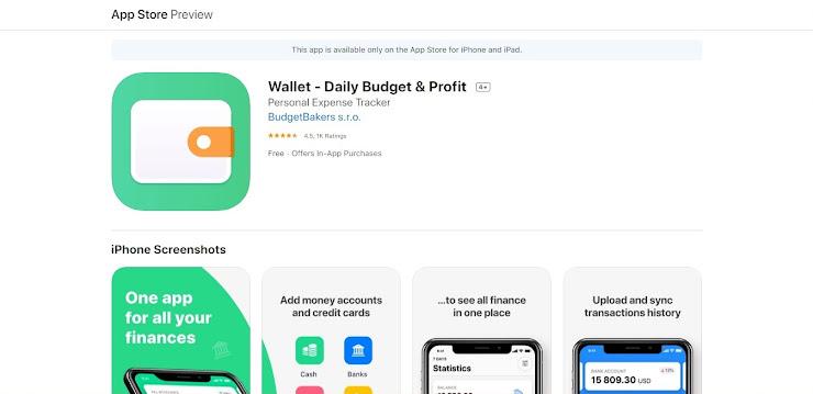 Wallet - app de ahorro