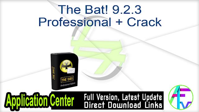 The Bat! 9.2.3 Professional + Crack
