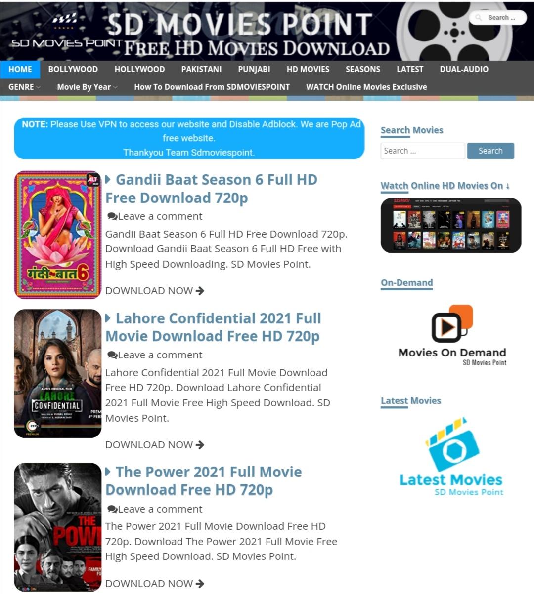 Sdmoviespoint Pakistani movies