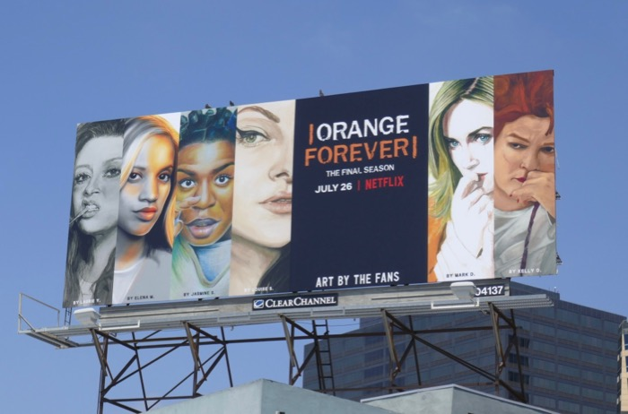 Orange is the New Black final season 7 billboard