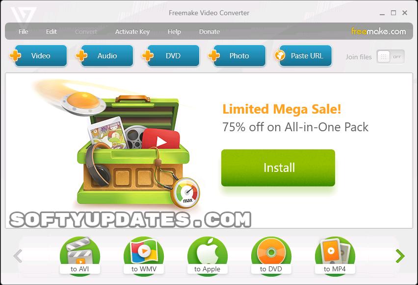 Freemake Video Converter 4.1.10.237