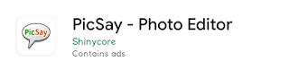 Picsay - Aplikasi untuk Corat-coret Foto di Android