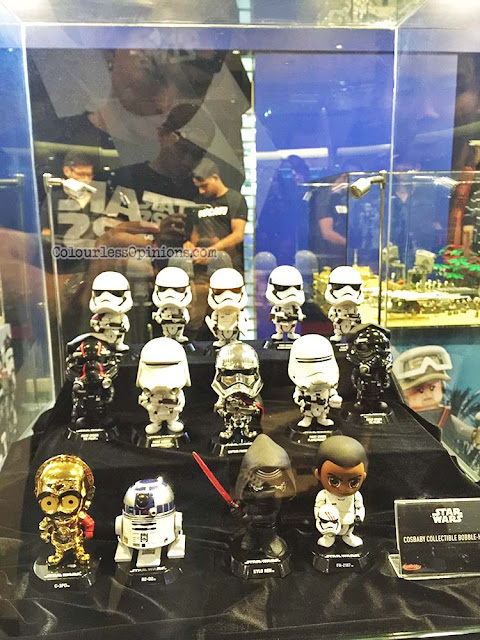 star wars force awakens cosbaby collectible bobble heads