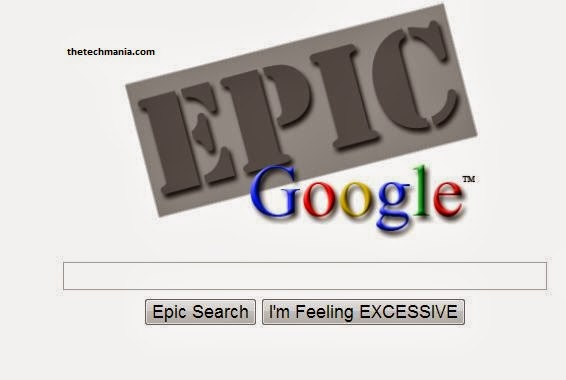 Epic Google -Google Tricks