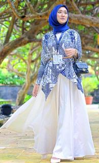 model baju lebaran dian pelangi 2019