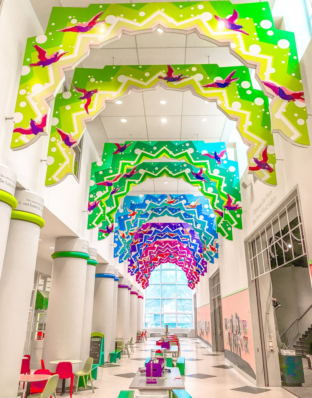 The Hallway in Children's Museum of Houston