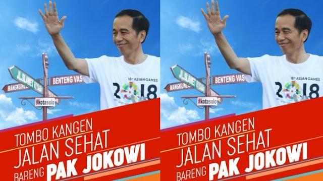 Sejumlah Elemen Masyarakat Tolak Jalan Sehat Bersama Jokowi di Solo