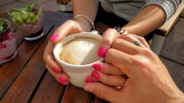 café manos amor querer uñas