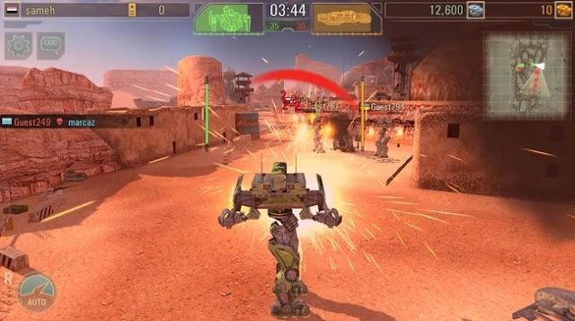 تحميل لعبة War Robots للكمبيوتر