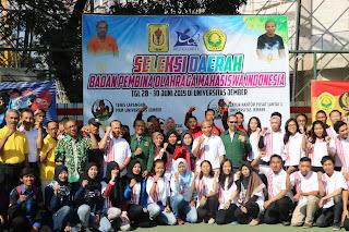 UNEJ Tuan Rumah Empat Cabor, POLIJE Satu Cabor  Pada Selekda Bapomi Jawa Timur-POMNas XVI 2019