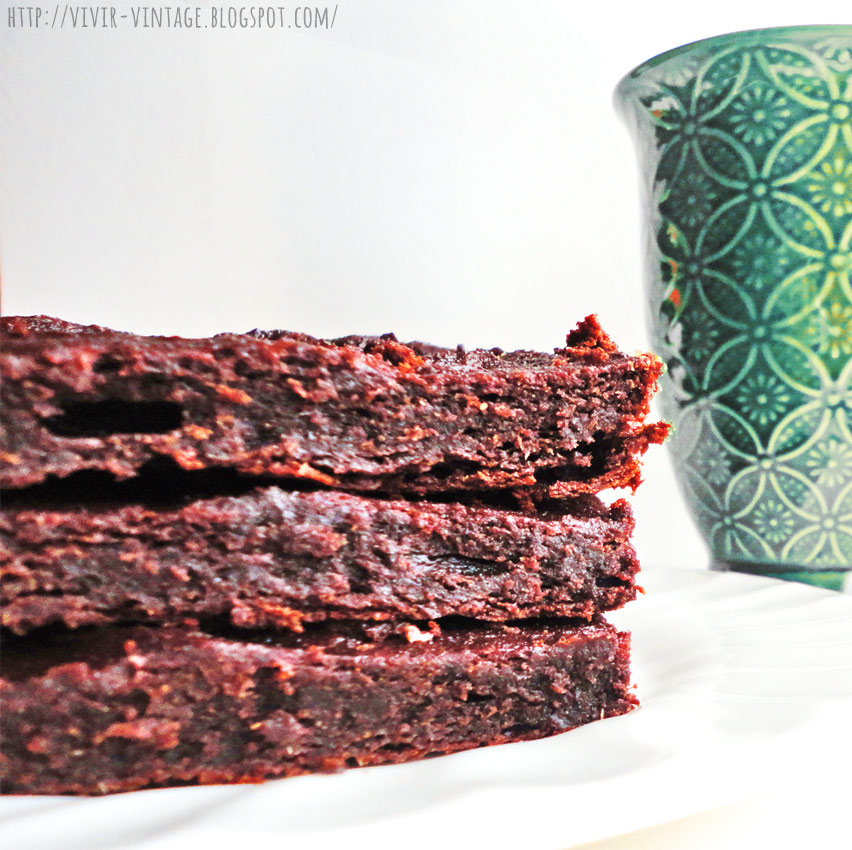 brownie sin harina sin azucar sin manteca