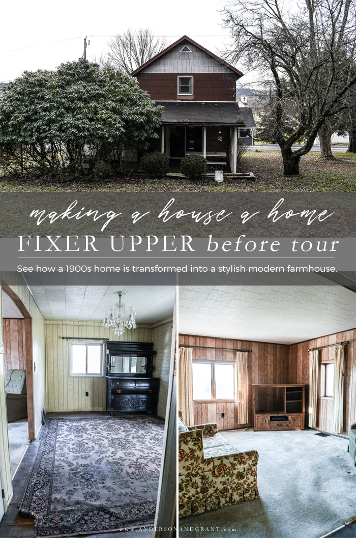 Fixer Upper Before Tour