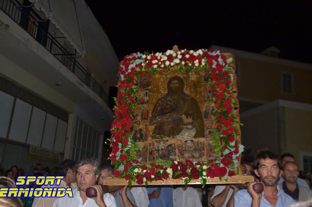 Λιτάνευση της Ιερής Εικόνας του Αγίου Ιωάννη στο Κρανίδι