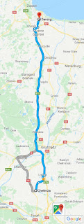 Karte (Ausschnitt) Route