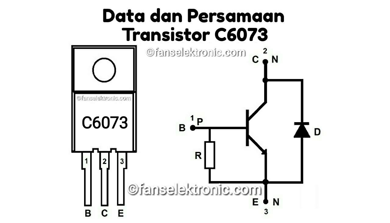 Persamaan Transistor C6073