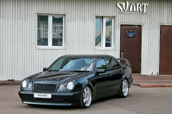 mercedes benz w210 brabus e7 3 by sv art benztuning. Black Bedroom Furniture Sets. Home Design Ideas