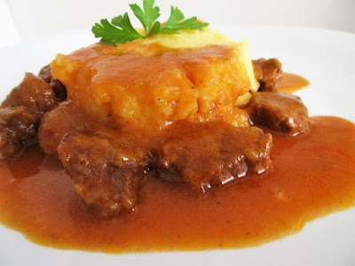 Goulash from mutton