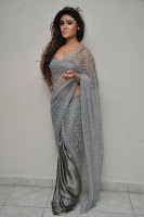 Actress Sony Charistha Latest Pos in Silver Saree at Black Money Movie Audio Launch  0005.jpg
