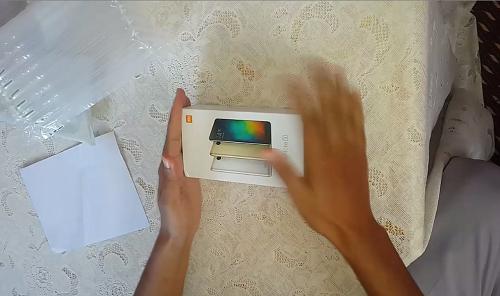 فتح علبة هاتف XIAOMI Redmi Note 3 Pro التوصل بالسلعة من موقع gearbest