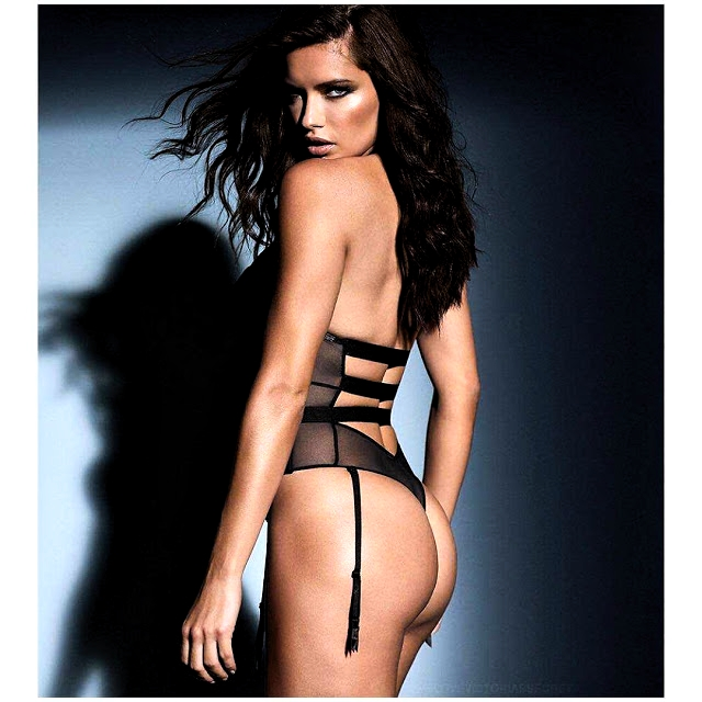 Adriana Lima's Enticing Look In Victoria's Secret Obsessed LingerieCampaign Latest