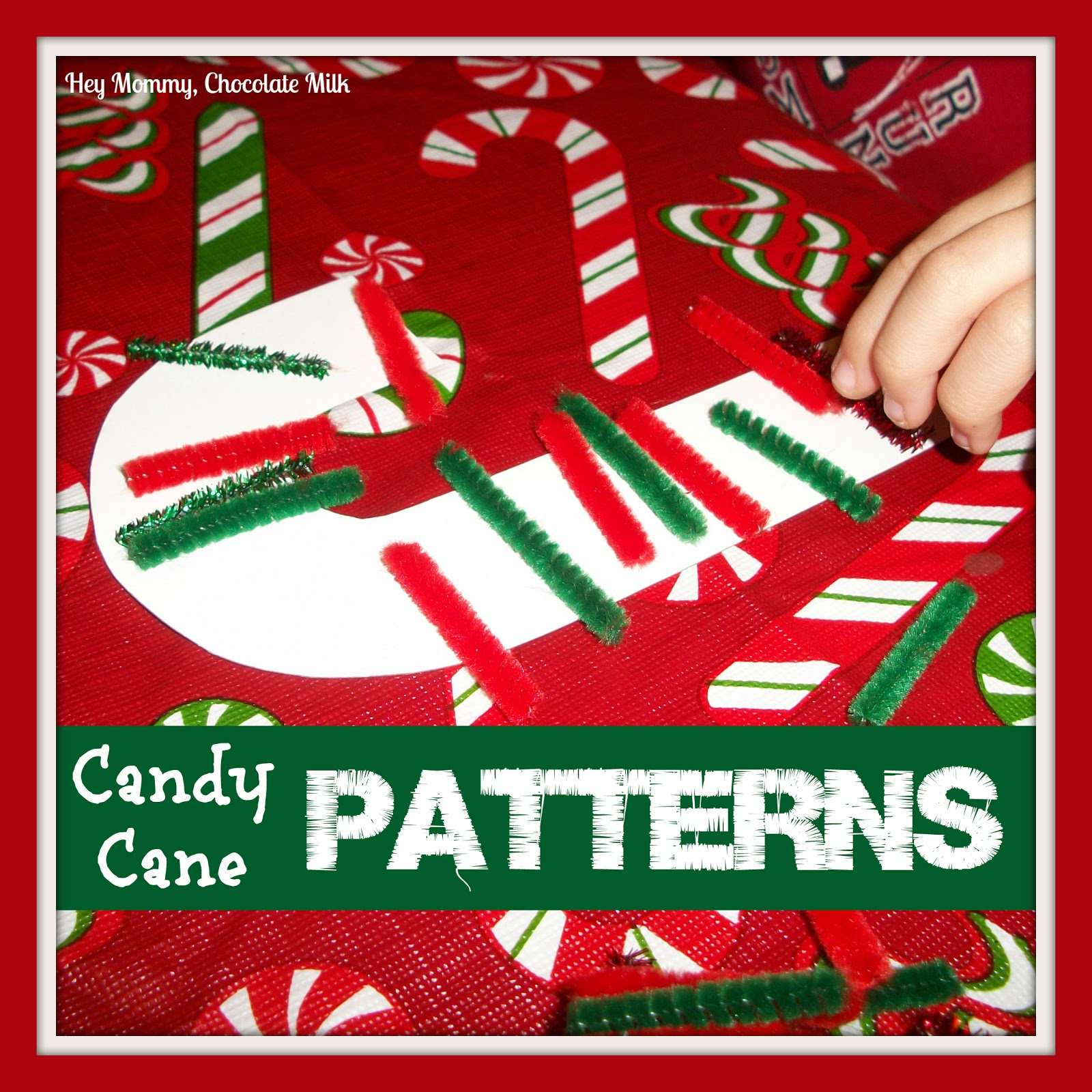 Hey Mommy Chocolate Milk Candy Cane Patterns
