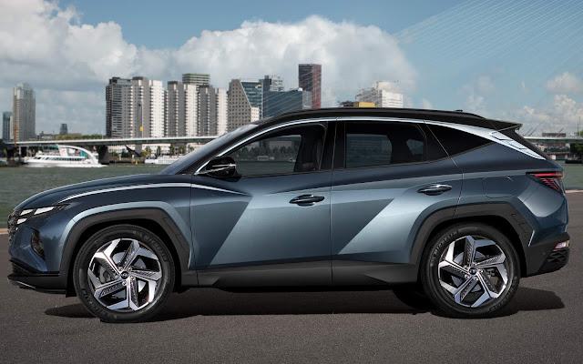 Novo Hyundai Tucson 2022: fotos e especificações oficiais