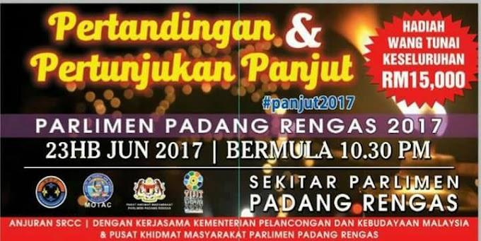 Pertandingan dan Pertunjukan Panjut Parlimen Padang Rengas Pasti Memukau