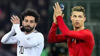 Ronaldo vs Mo Salah