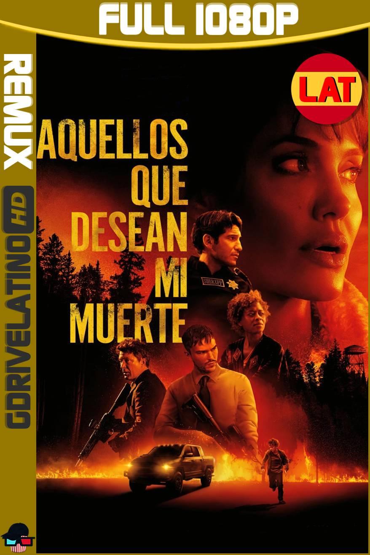 Aquellos Que Desean Mi Muerte (2021) BDRemux 1080p Latino-Ingles MKV