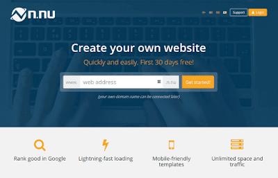 वेबसाइट कैसे बनाये, Online free website kaise banaye
