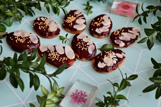 🔅 mini mazurki karmelowo-czekoladowe