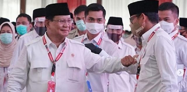 Prabowo Kembali Pimpin Gerindra, Sandiaga Uno: InshaAllah Amanah