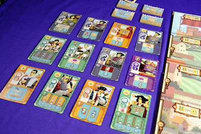 Market cards for Coimbra boardgame