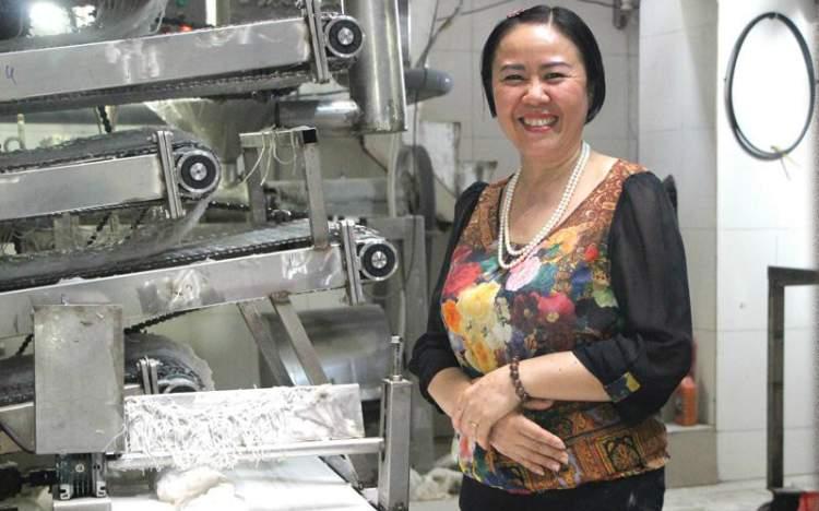 Cơ nghiệp trăm tỷ từ cọng bún tươi của nữ doanh nhân Nguyễn Thị Bính