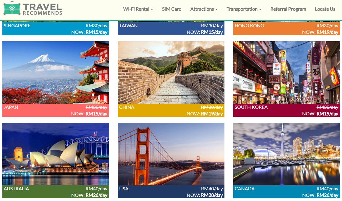 DAUS REDSCARZ: Pocket Wifi Travel Recommends memang berbaloi di