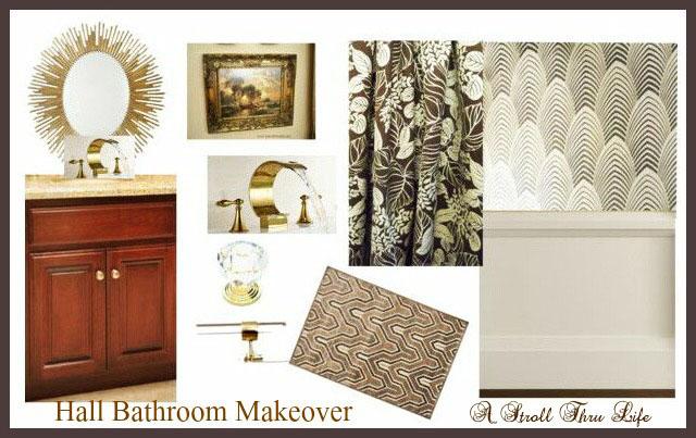 A Stroll Thru Life Hall Bathroom Makeover Ideas - Cosmetic bathroom makeover