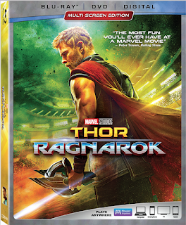 Marvel Studio's Thor: Ragnarok on Blu-ray