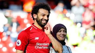 محمد صلاح وزوجته يحتفلان بطريقتهم الخاصة