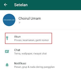 cara ganti nomor whatsapp baru